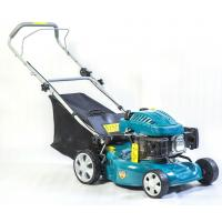 China 17 Inch 99cc Petrol Lawn Mower , Commercial Lawn Mower Hand Push Type on sale