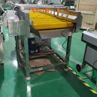 Brush Type Industrial Vegetable Washer , Carrot  / Apple Washing Machine 150 - 200kg/H Output Manufactures