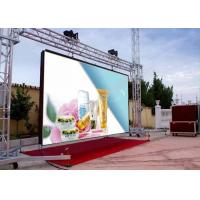 Rental LED Display Module P10 1RGB Full Color LED Advertising Display With Iron Cabinet
