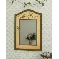 Decorative bird bathroom wooden wall mirror for sale of for Fancy wall mirrors for sale