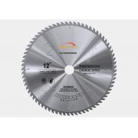250mm Diameter TCT Saw Blade Laminated Panels MDF Cutting TCG Teeth Shape Manufactures