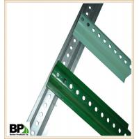 galvanized U channel post used in  Orchard Manufactures