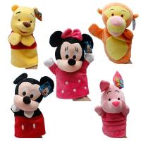 Winnie Pooh Tigger Stitch Eyore Plush Finger Puppets Yellow Pink Blue Manufactures