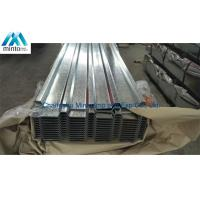 Anti Corrosion Galvanised Corrugated Steel Roofing Sheets SGCC SGCH Shockproof Manufactures