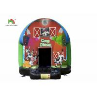 Buy cheap Dome 3.5m Carton Printing Inflatable Jumping Castle Bounce House For Kids from wholesalers