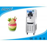 High Capacity Commercial Soft Serve Ice Cream Machine Full Stainless Steel Material Manufactures