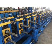 Buy cheap High speed 10m/min 1.5-2mm galvanized Guide Rail Roll Forming Machine 2 sets of from wholesalers