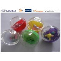 China Colorful egg type Small Plastic Capsules , Custom Plastic Toys for Children on sale