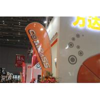 Interior / Outdoor Teardrop Banners 3kg Cross Feet With 360 Degree Turning Radius Manufactures