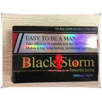 Black Storm Powerful Male Libido Pills , Anti ED Natural Male Enhancement Supplements Manufactures