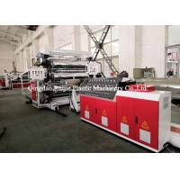 Reliable PP ABS Plastic Sheet Manufacturing Machine Energy Saving 380V Voltage Manufactures