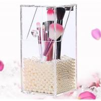 New clear acrylic makeup organizer storage box Manufactures