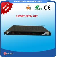 1U rack 8 Ports EPON OLT With SFP for Passive Optical Network FTTH
