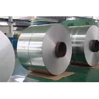 China Polished Surface Aluminium Sheet Roll , Aluminum Gutter Coil Silver Color on sale
