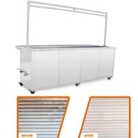 10 Ft Ultrasonic Blind Cleaning Equipment Wash And Rinse Heated Ultrasonic Tank Manufactures