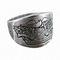 China Motor Stainless Steel Ring, Not Produce Skin Irritation/Discoloration, Customized Colors Welcomed on sale