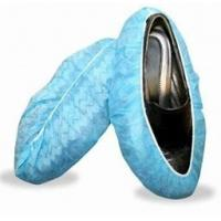 Breathable Anti Skid Disposable Protective Shoe Covers Waterproof Microporous SF Manufactures