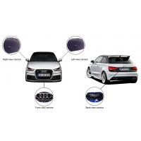 Wide Angle 180 Degree Car Rearview Camera System For Audi With DVR, 360 Bird View System Manufactures