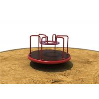 ECO Friendly Material Childrens Out Door Play Equipment Spring Rider Rotational For 4 Kids Manufactures