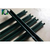 2.4M Height Vineyard Steel Grape Trellis Posts With Green Color Powder Coated Manufactures