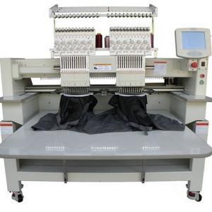 Tajima Type Cap Flat T - Shirt Shoes Computer Embroidery Machine Max Speed 1000 Spm Manufactures