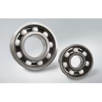 6202 Full Ceramic Deep Groove Ball Bearing Used For Fans , 12 Months Guarantee