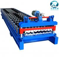 China Gear Drive Roofing Sheet Roll Forming Machine High Forming Machine 30-35 m / min on sale