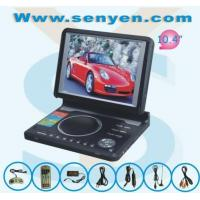 China Portable DVD/TV/GAME/USB/MPEG4/Card reader with 10.4'' TFT player SY136 on sale