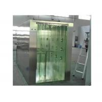 PVC Curtain Door Clean Room Air Shower SUS 304 Material Cabinet Manufactures