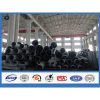 Octagonal 3mm steel tube Q345 Material Electricity transmission galvanized steel pipe Manufactures