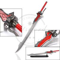China Collectible 49.6  Video Game Swords Devil May Cry 4 Red Queen Sword of Nero on sale