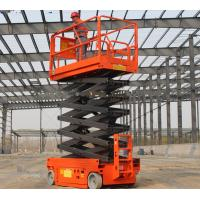 Mini SeAerial Work Scissor Lift Small Platform With Hydraulic Turning Wheel Manufactures