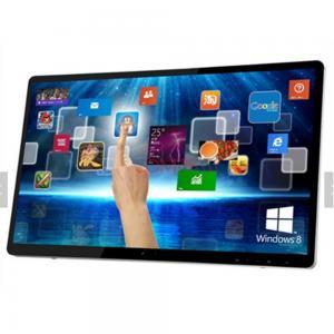 China Super Slim Flat Screen Digital Signage Monitor , 42 47 55 Inch LCD Digital Signage on sale