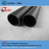 High Strength 3k Carbon Fiber Pipe Corrosion Protection For Machine Parts Manufactures
