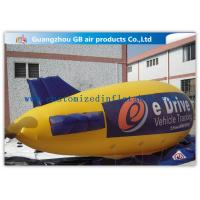 China Zeppelin Shape Inflatable Outdoor Advertising Balloons Heat Transfer Printing on sale