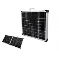 Lightweight Foldable Solar Panel IP67 Black Frame Double Operation Buttons Manufactures
