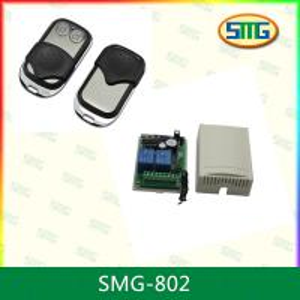 RF digital garage door rf wireless remote control switch SMG-802 Manufactures