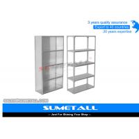Commercial Slotted Angle Shelving / Heavy Duty Metal Shelving Corrosion Protection Manufactures