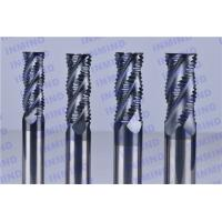 4 Flute AlTiN Coating HRC50 Roughing End Mills 0.6 - 0.8 um Grain Size Manufactures