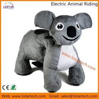 China Coin Operated Kiddie Animal Rides Zippy Animal Rides Plush Coin Operated Electronic Rides on sale