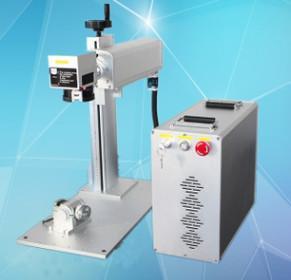 Fiber Laser Metal Engraving Marking Machine Water Cooling For Mobile Phone Case Manufactures