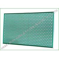 Buy cheap FLC2000 Flat Vibrating Rock Screen 48 X 30 For Flo Mud Cleaner 2000 , SS304 Wire from wholesalers