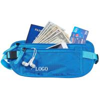 Small RFID Ladies Money Belt , Waterproof Money Bag With Adjustable Belt Manufactures