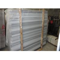 White And Grey Marble Stone Slab Marble Wall Panels For Showers Huge Size Manufactures