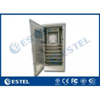 Aluzinc Coated Steel  Outdoor Electrical Enclosure Single Wall With Insulation Manufactures