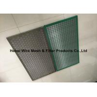Buy cheap Mud Conditioner Shake Screen , Steel Frame Solid Control Shaker Screen from wholesalers