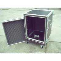 9mm Plywood 22U Rack Flight Case Durable Easily Stored Upright With Reinforced Corners Manufactures