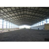 China Eco Friendly Steel Frame Storage Buildings With Sandwich Panel Wall Versatility on sale