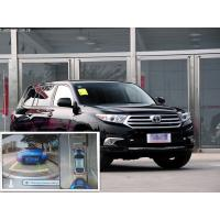 360 degree around View Car Reverse Camera System with 4 special cameras for Toyota Highlander Manufactures
