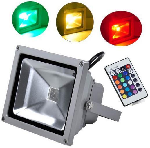 Led Wall Washer Fixtures : 20 Watt RGB LED Flood Light Aluminum Alloy Wall Washer Fixtures for sale of outsideledfloodlight